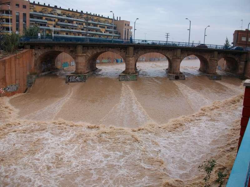 Barranc del Poyo en Catarroja. EPDA