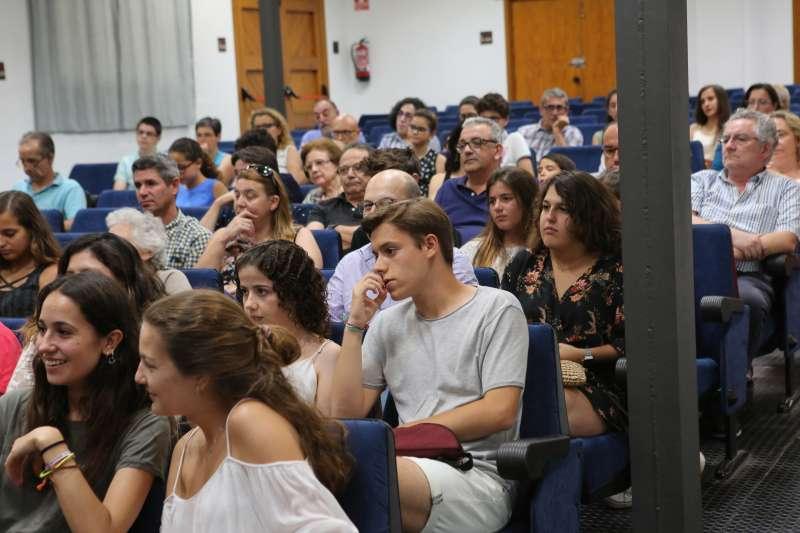 Acte celebrat en el saló de Vila Teresita. EPDA