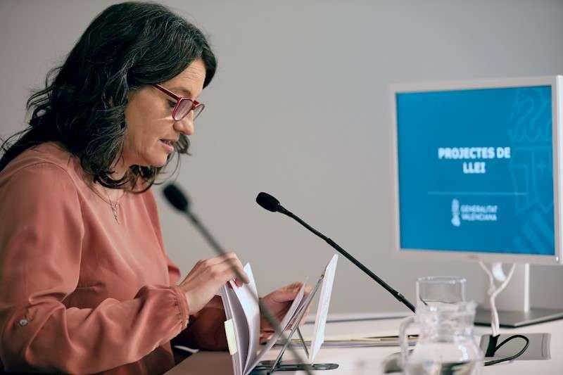 La vicepresidenta del Consell y consellera de Igualdad y Políticas Inclusivas, Mónica Oltra. EFE/Archivo