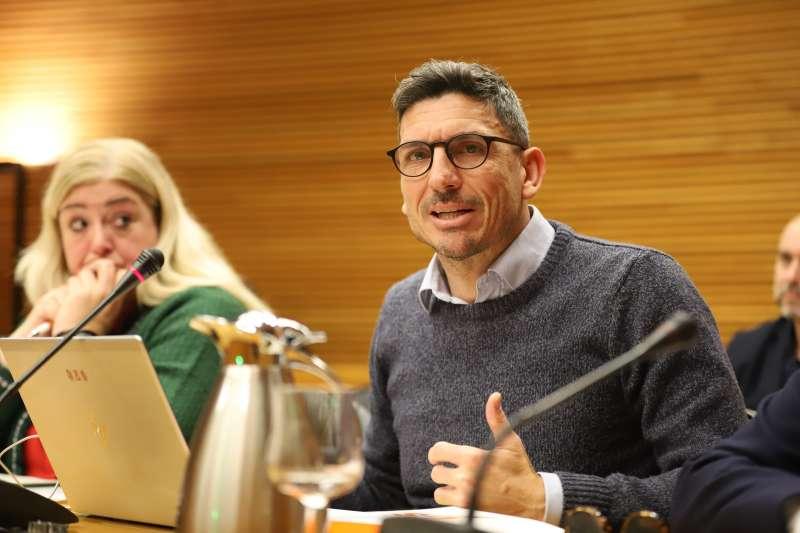 El portavoz del área de Comercio de Ciudadanos (Cs) en Les Corts valencianas, Carlos Gracia. / EPDA