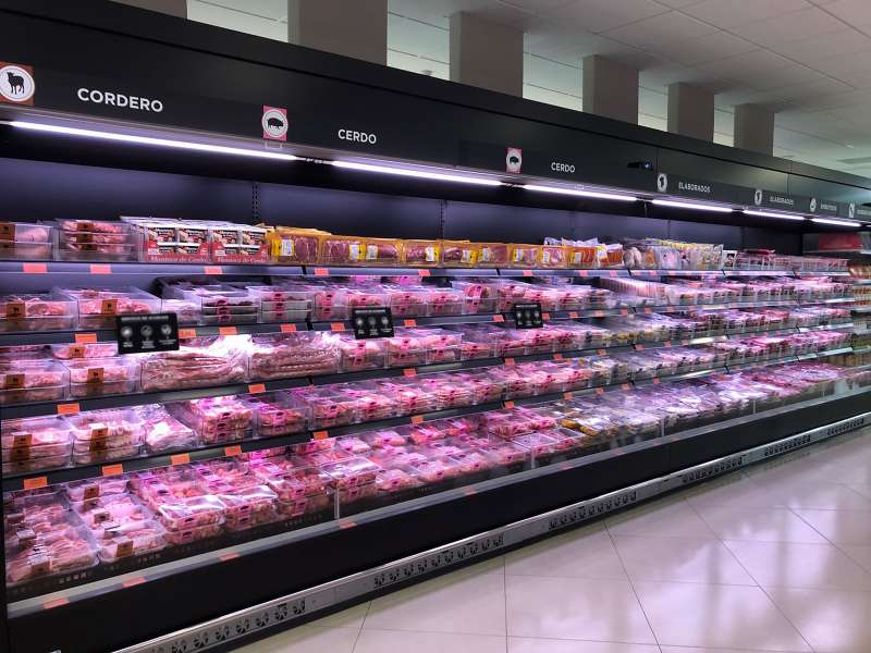 Carne en Mercadona. EPDA