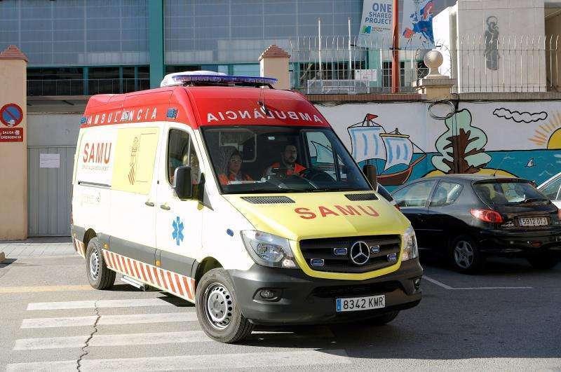 Imagen de archivo de una ambulancia.