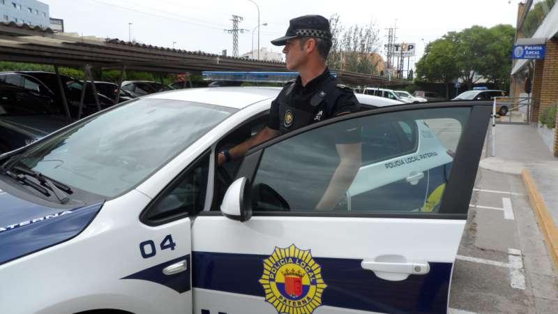 Policía Local en Paterna.