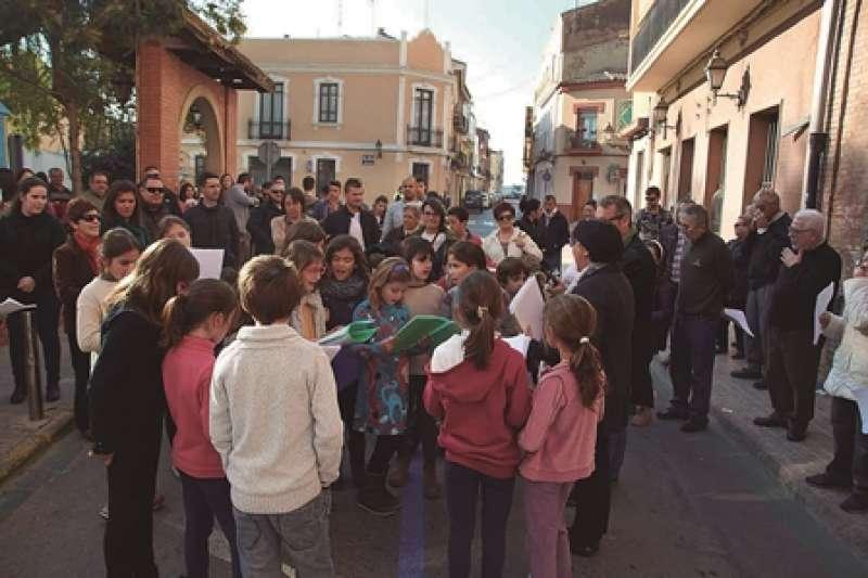 Cant de nadales a Vinalesa. Sofia Barbarroja