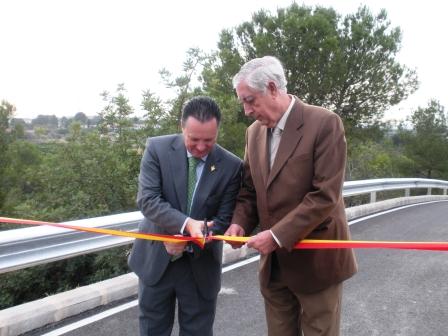 Inauguración del nuevo acceso desde la CV-35 a Torre En Conill. Foto EPDA