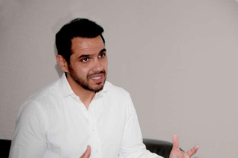 El portavoz de Ciudadanos de Paterna,Jorge Ibáñez. EPDA