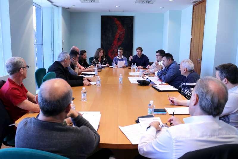 Reunión de protocolo por el coronavirus. EPDA