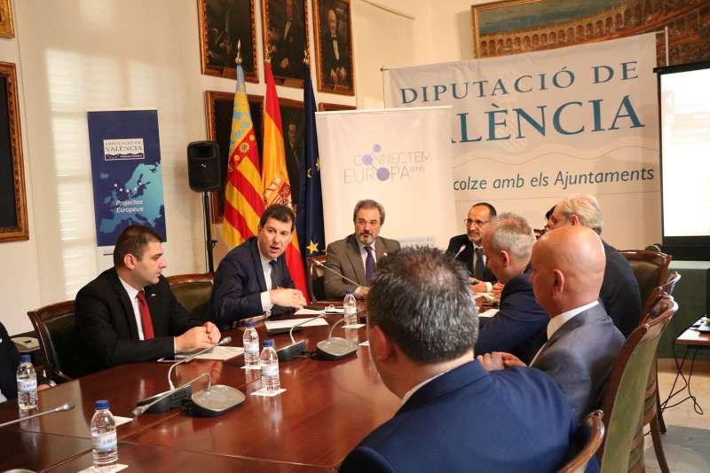 Proyectos europeos Diputación de València