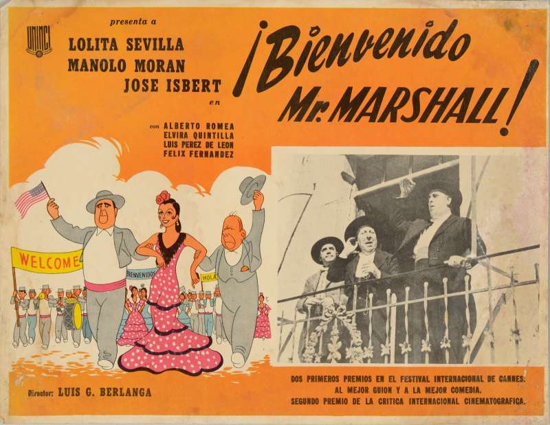Cartel de una de las películas míticas del director.