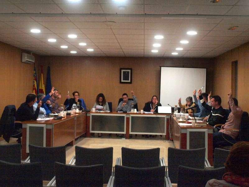 Pleno Ayuntamiento de Foios -EPDA
