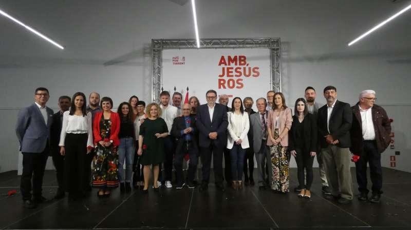 Acto de la presentación de candidatura de PSPV-PSOE de Torrent