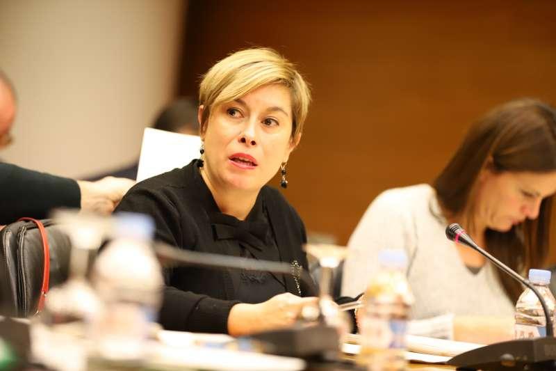 Merche Ventura, portavoz de Educación de Ciudadanos en Les Corts Valencianes.