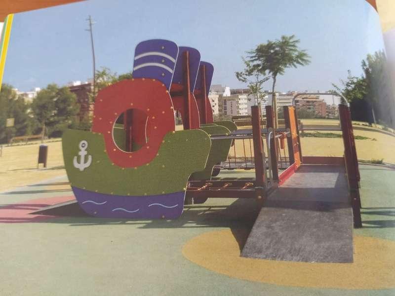 Parque accesible en Canet d
