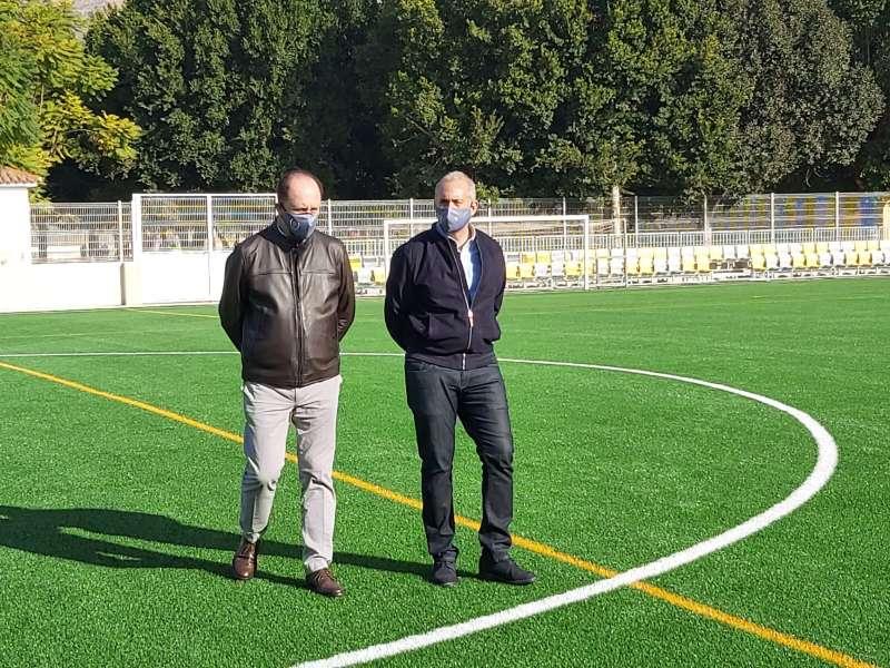 Emilio Bascuñana y Víctor Bernabéu/EPDA