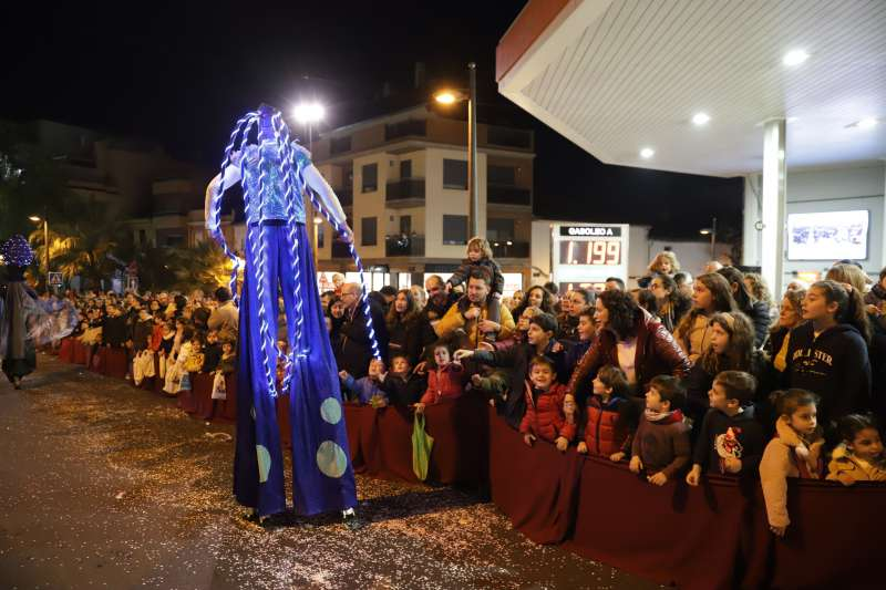 Cabalgada de los Reyes Magos en Paterna. EPDA.