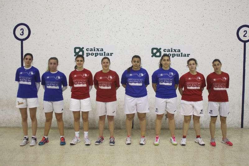 Jugadores del sub-23 de raspall. EPDA