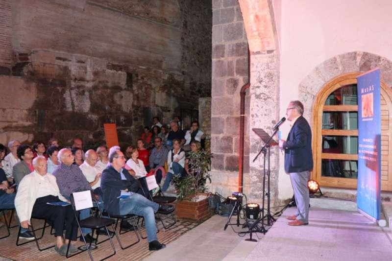 Presentación del programa del festival. EPDA