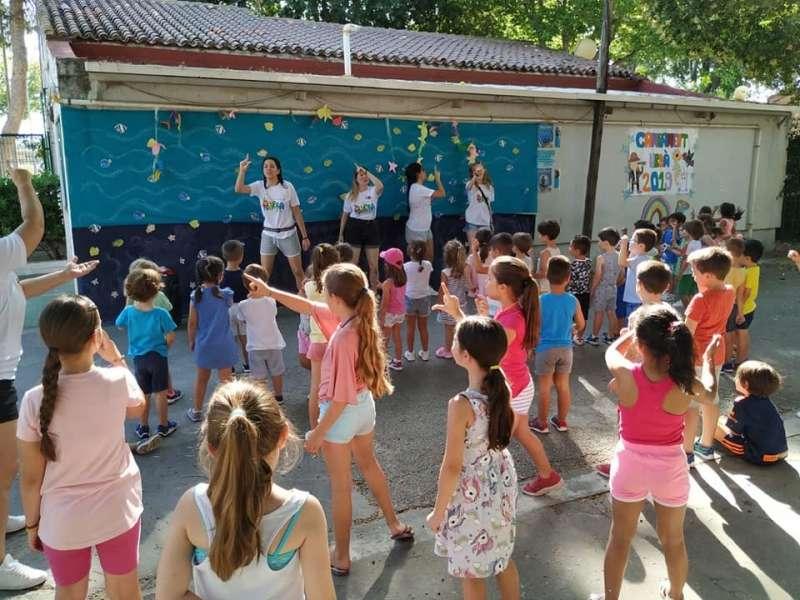Escuela de veranoe n Quart. EPDA