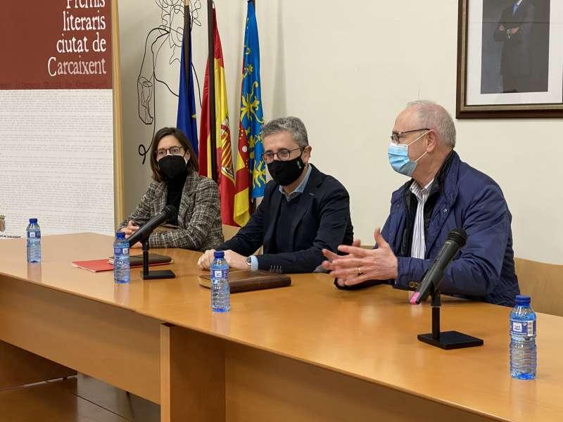 Arcadi España en Carcaixent
