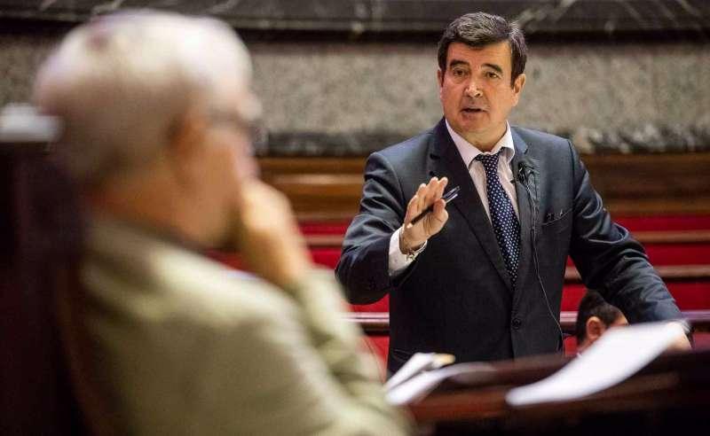 El portavoz de Ciudadanos en el Ayuntamiento de València, Fernando Giner. EPDA