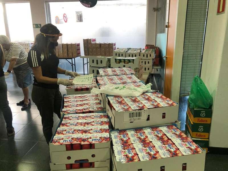 Alimentos donados