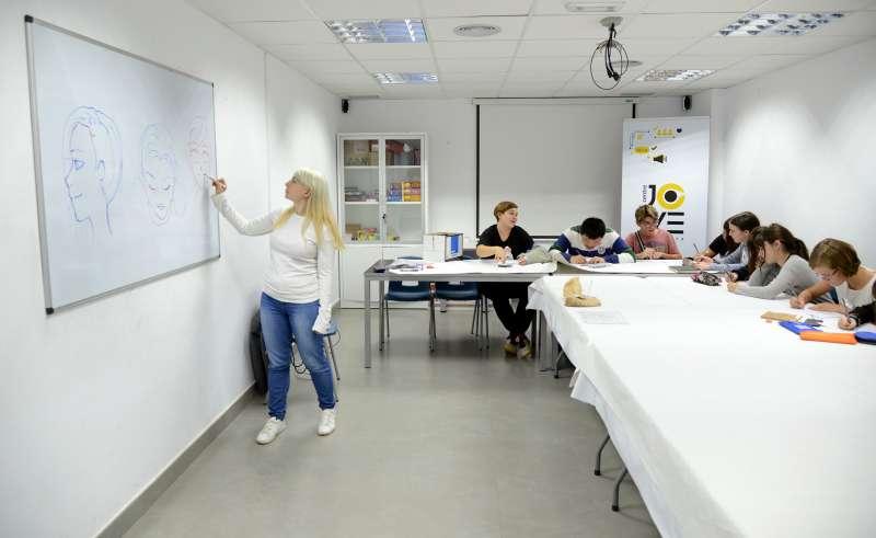Una de les classes. EPDA