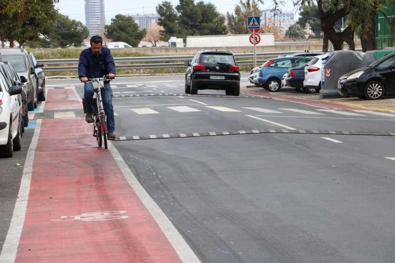 Carretera en Quart de Poblet