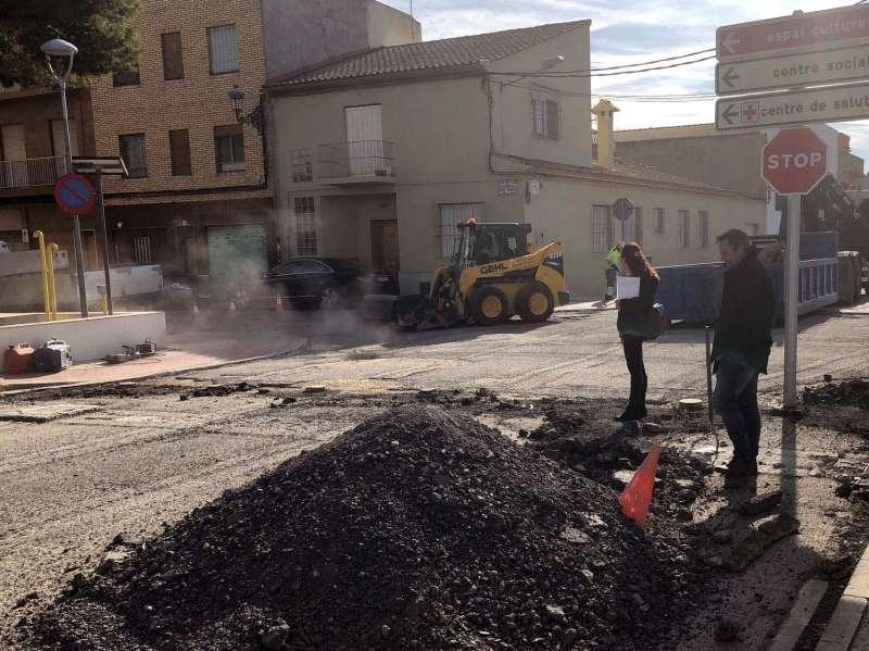 4 carrers que tenien el ferm amb mal estat s