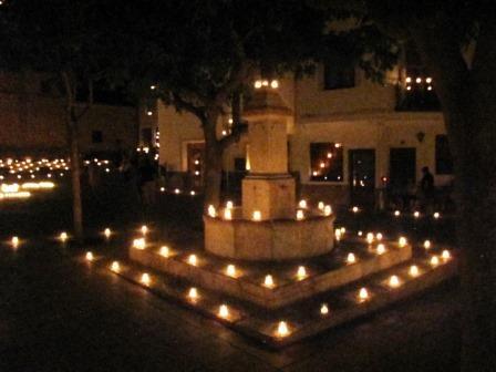 Noche de las velas de Titaguas. Foto EPDA