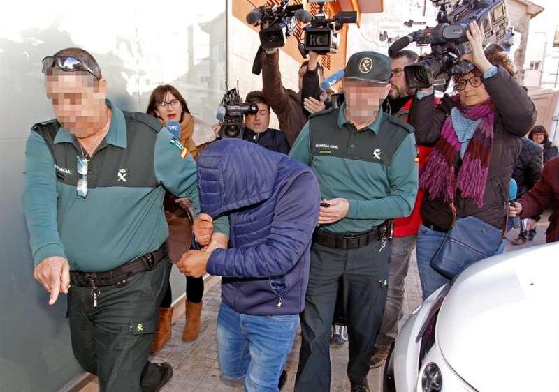 Uno de los detenidos por presuntamente cometer una violación grupal en la Nochevieja de 2019 en Callosa d
