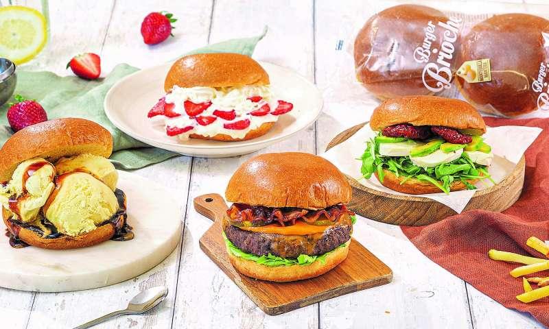 Pan de hamburguesa brioche de la marca Hacendado