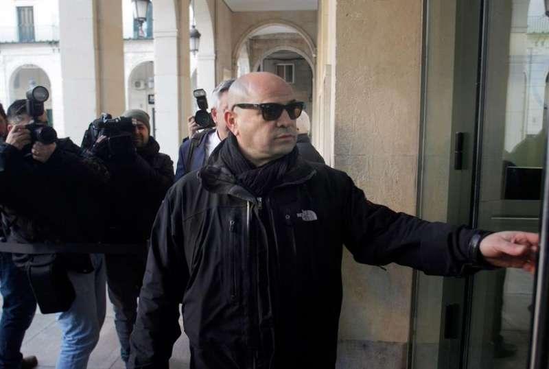 Raúl M., uno de los acusados en el caso del asesinato del alcalde Polop. EFE/ Morell