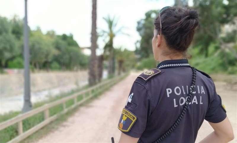 Imagen de recurso compartida en redes por la Policía Local de Elche.