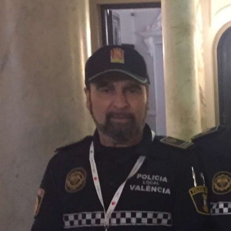 El inspector Antonio Vega Salas.
