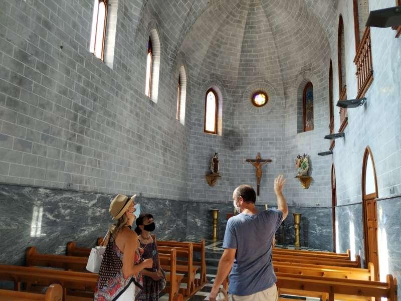 Visita a los monumentos de Riba-roja. EPDA.