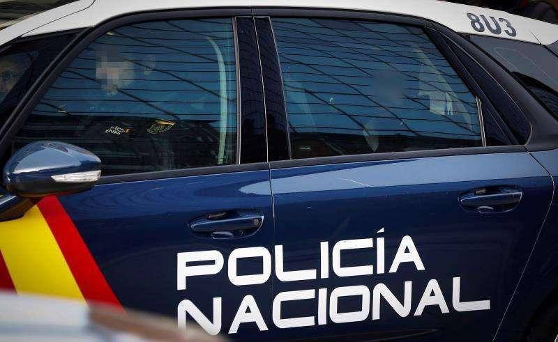 Imagen de un coche de la Policía Nacional.