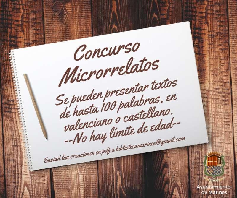 Cartel del concurso de microrrelatos. /  EPDA