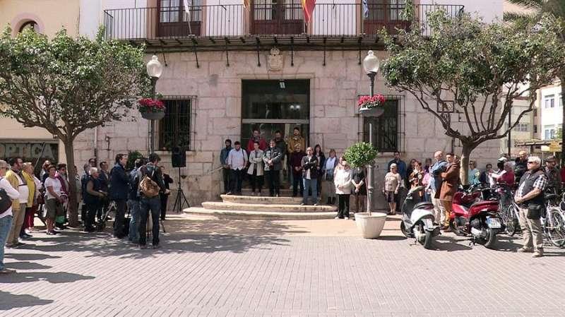 Imagen de archivo de la concentración silenciosa por la muerte de una joven desaparecida en Vinaròs. EFE/Eusebio Calatayud