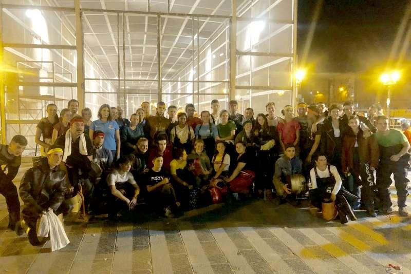 Participantes en la pequeña Cordá