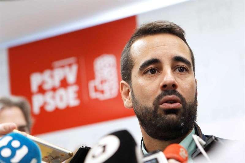 El secretario de Organización del PSPV-PSOE, José Muñoz, en una imagen de archivo. EFE