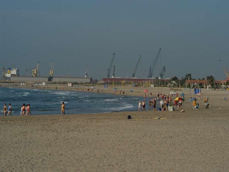 Playa del Port de Sagunt. / EPDA