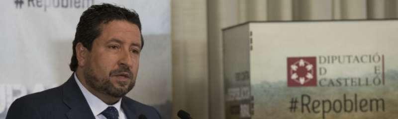 Javier Moliner, Presidente del Gobierno Provincial de Castellón.
