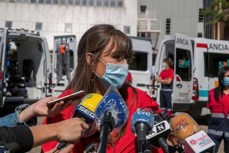 La consejera de Sanidad del Gobierno de Aragón, Sira Repollés. EFE/Javier Cebollada/Archivo