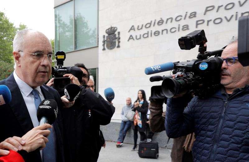 El exconseller de Cooperación Rafael Blasco. EFE