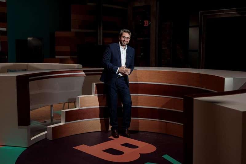 El periodista Màxim Huerta regresa a la televisión autonómica de la Comunitat Valenciana veinte años después de emprender su viaje a Madrid. BIEL ALIÑO