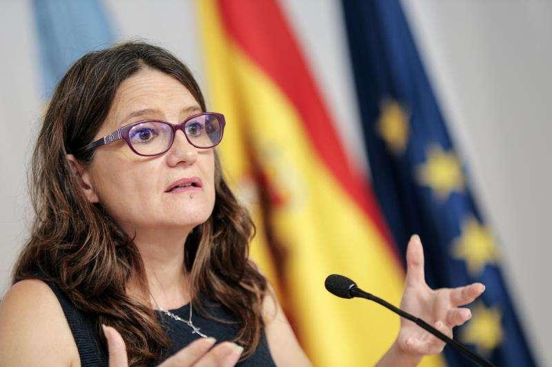 La vicepresidenta y portavoz del Consell, Mónica Oltra. EFE/Archivo