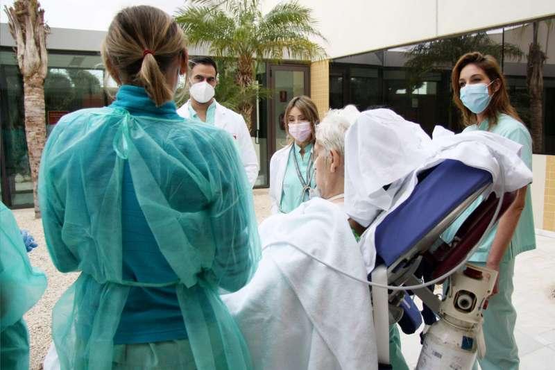 Paseo del paciente de la UCI / EPDA