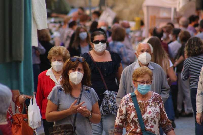 Mascarillas para reducir el riesgo de contagio