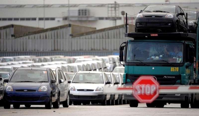 Fotografía de archivo de la factoría de Ford de Almussafes, Valencia. EFE