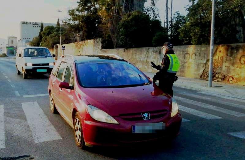 Control Policía